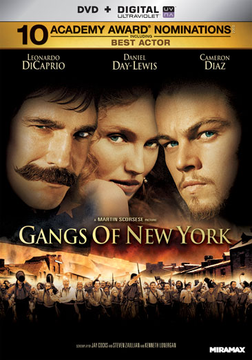 Gangs Of New York 031398134565