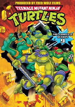 Teenage Mutant Ninja Turtles: Season 9 031398140610