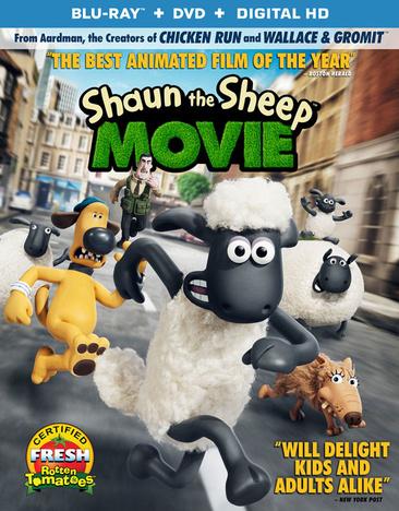 Shaun the Sheep Movie 031398229575