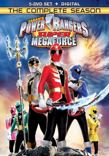 Power Rangers Super Megaforce: The Complete Season 031398247739