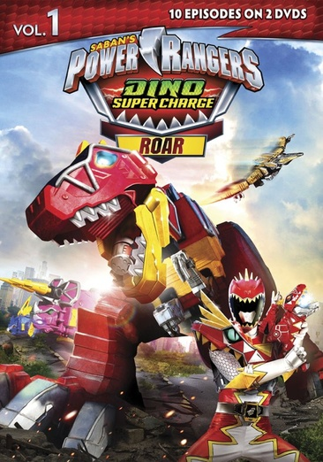 Power Rangers Dino Super Charger: Roar, Volume 1 031398257349