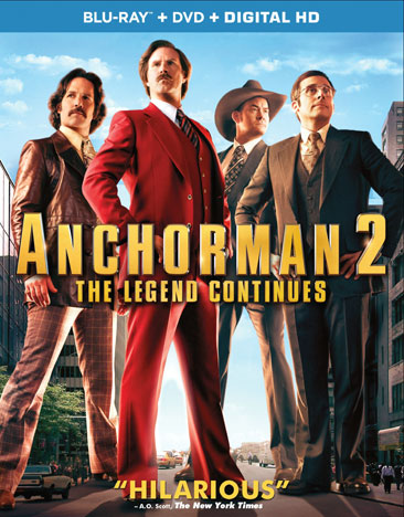 Anchorman 2: The Legend Continues 032429146205