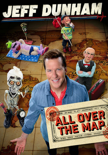 Jeff Dunham: All Over the Map 032429209337