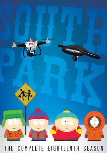 South Park: The Complete Eighteenth Season 032429219909