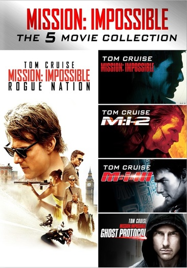 Mission Impossible 5-Movie Collection 032429235763