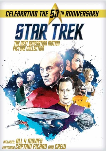 Star Trek: The Next Generation Motion Picture Collection 032429239051