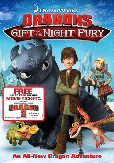 Dreamworks Dragons: Gift of the Night Fury 037117033393