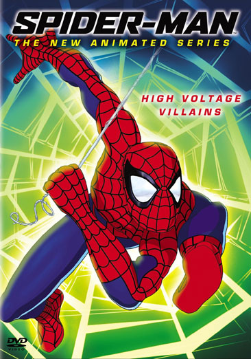 Spider-Man The New Animated Series: High Voltage Villains 043396054608
