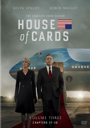 House of Cards: The Complete Third Season 043396459854