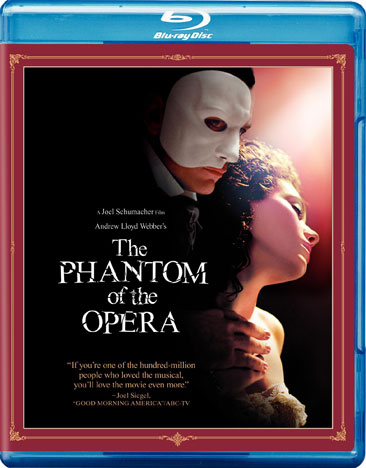 Andrew Lloyd Webber's The Phantom of the Opera 085391108108