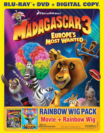 Madagascar 3: Europe's Most Wanted 097361476544