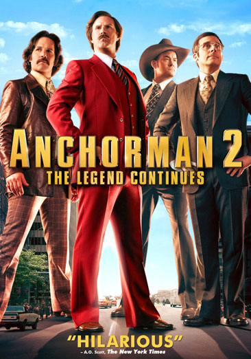 Anchorman 2: The Legend Continues 097363593041