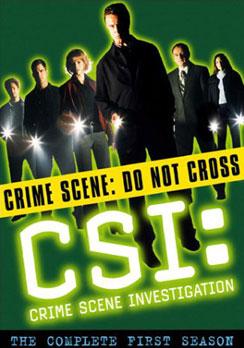 CSI: Crime Scene Investigation: The Complete First Season 097368716544