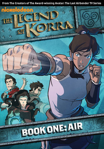 The Legend of Korra: Book One Air 097368914940