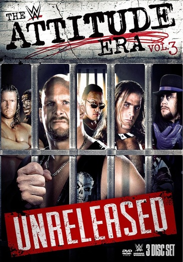 WWE: The Attitude Era Volume 3 651191955138