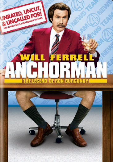 Anchorman: The Legend of Ron Burgundy 678149167726