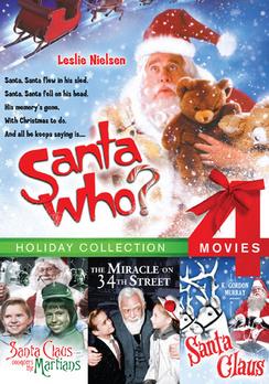 Santa Who? / Santa Claus Conquers the Martians / Santa Claus / Miracle on 34th Street 683904527660