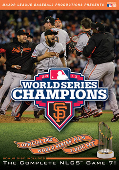 San Francisco Giants Official 2012 World Series Film 733961271300