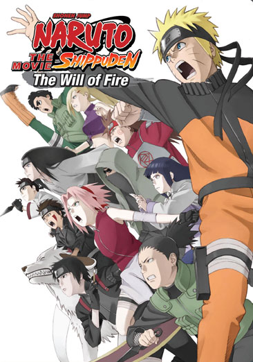 Naruto Shippuden The Movie: Will of Fire 782009242314