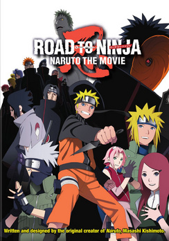 Naruto Shippuden the Movie: Road to Ninja 782009243083