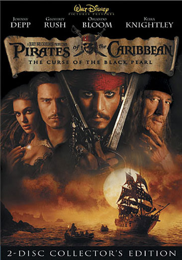 Pirates of the Caribbean: Curse of the Black Pearl 786936224306