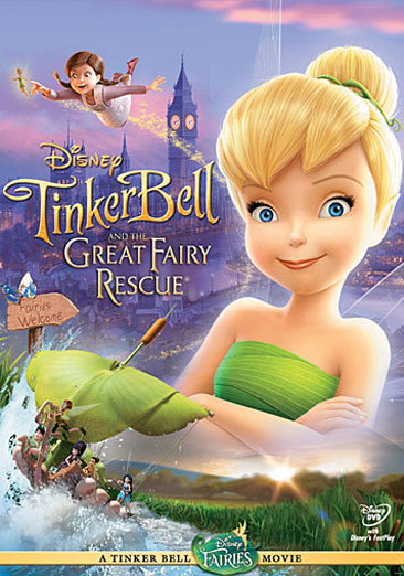 Tinker Bell and the Great Fairy Rescue 786936790436
