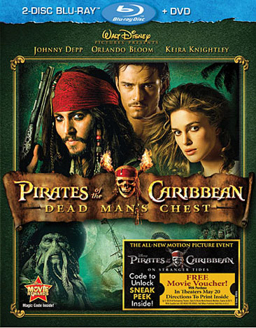 Pirates of the Caribbean: Dead Man's Chest 786936812572