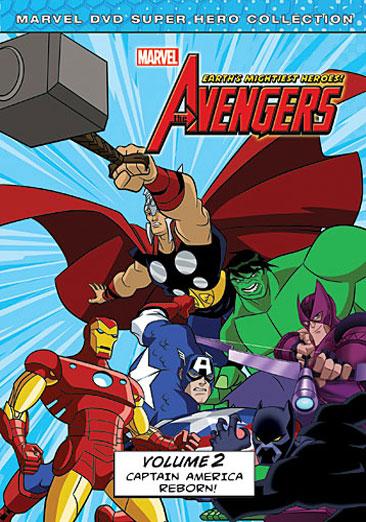 The Avengers: Volume 2, Captain America Reborn! 786936814842
