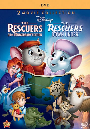 The Rescuers / The Rescuers: Down Under 786936822786