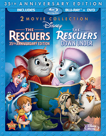 The Rescuers / The Rescuers: Down Under 786936822823