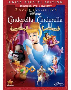 Cinderella 2: Dreams Come True / Cinderella 3: A Twist in Time 786936825824