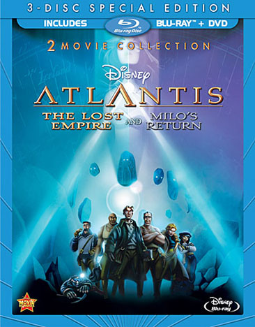 Atlantis: The Lost Empire / Atlantis: Milo's Return 786936827682