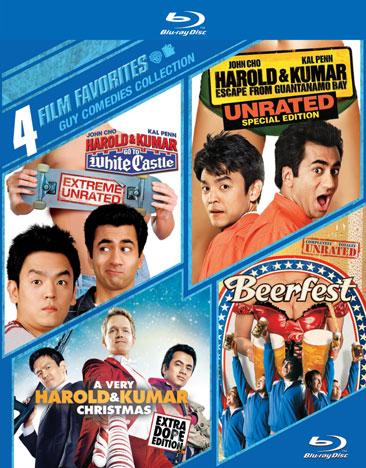 4 Film Favorites: Guy Comedies 794043171734