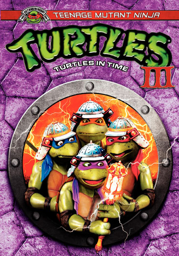 Teenage Mutant Ninja Turtles III: Turtles in Time 794043556920