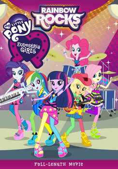 My Little Pony Equestria Girls: Rainbow Rocks 826663157031