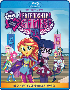 My Little Pony Equestria Girls: Friendship Games 826663160246