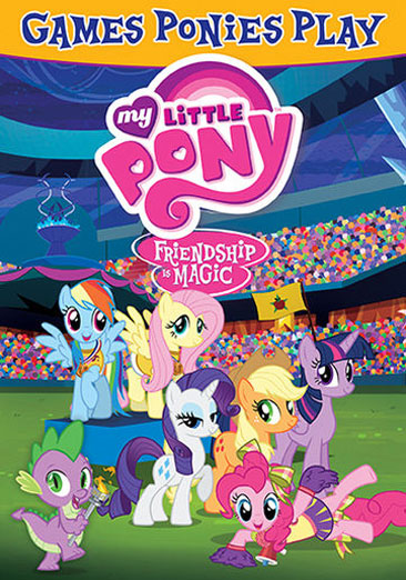 My Little Pony Friendship is Magic: Games Ponies Play 826663160291