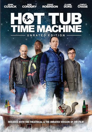 Hot Tub Time Machine 883904206040