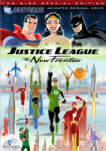 Justice League: The New Frontier 883929008483