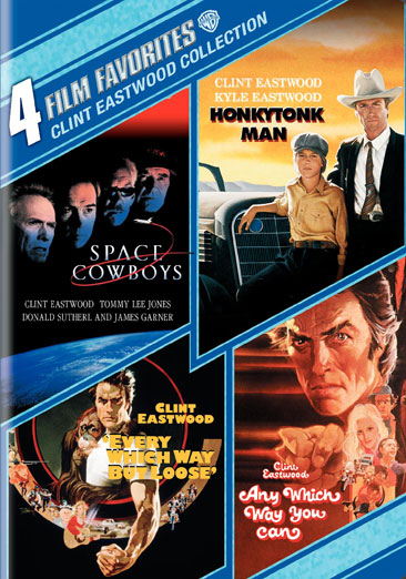 4 Film Favorites: Clint Eastwood Comedy Collection 883929035809
