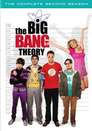 The Big Bang Theory: The Complete Second Season 883929072552