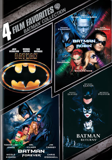Batman: The Motion Picture Anthology 1989-1997 883929073597