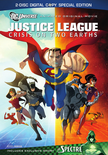 Justice League: Crisis on Two Earths 883929094592