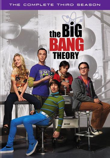 The Big Bang Theory: The Complete Third Season 883929104505