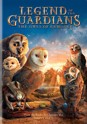Legend of the Guardians: The Owls of Ga'Hoole 883929106592
