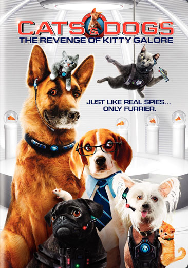 Cats & Dogs: The Revenge of Kitty Galore 883929106752