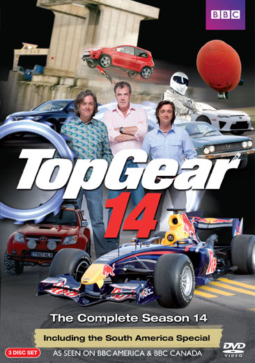 Top Gear: The Complete Season 14 883929119127