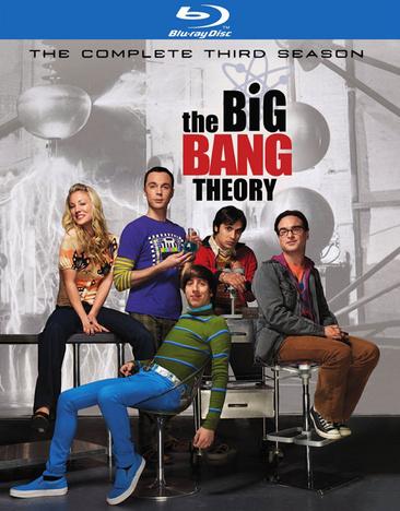 The Big Bang Theory: The Complete Third Season 883929126002