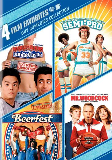 4 Film Favorites: Guy Comedies 883929129010