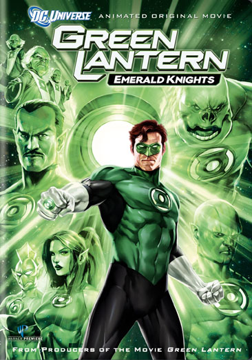 Green Lantern: Emerald Knights 883929136902